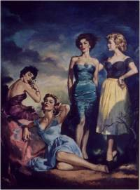 Congregation of ladies